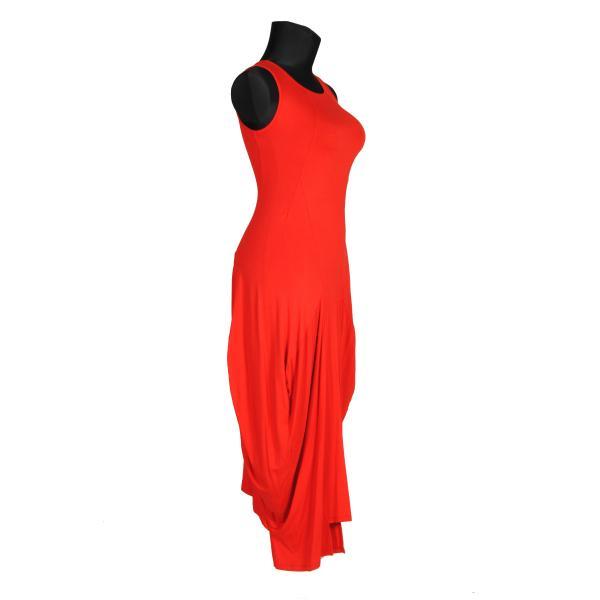 Kleid Jersey Rot
