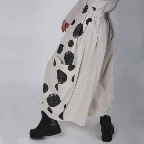 Hose Baumwolle Beige