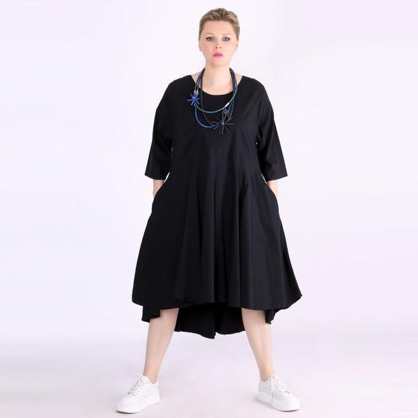 Kleid Bengalin Schwarz