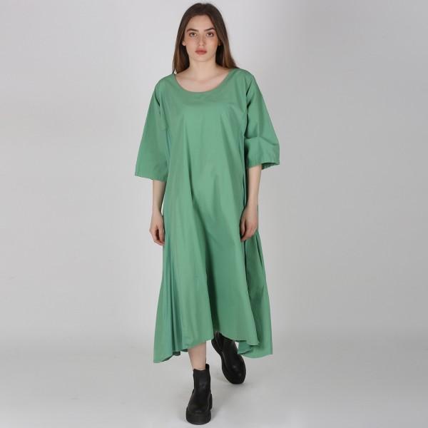 Kleid Baumwolle Jersey Grün