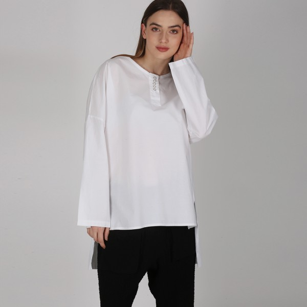 Basic Shirt Weiß