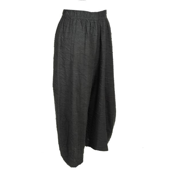 Jerseyhose in Knit-Optik mit Taschen
