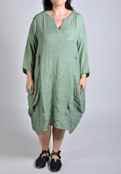 Sommer-Kleid Long-Tunika Mint-Grün