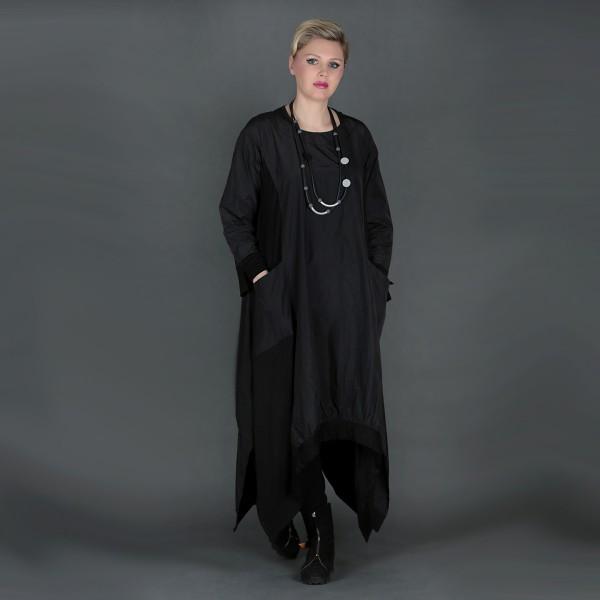 Maxi-Kleid Taft Schwarz
