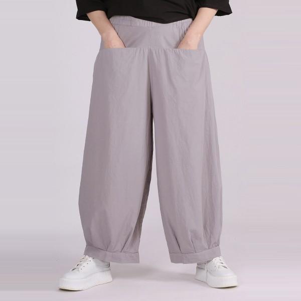 Hose 100% Baumwolle Grau