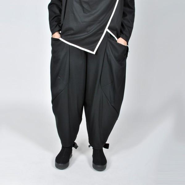 Hose Schwarz mit Taschen